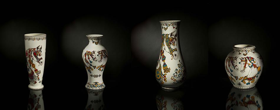 Faïencerie de Gien - Vases Musée